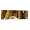 iCanvas Panoramic Architectural Detail of Park Guell Designed by Catalan Architect Antonio Gaudi, Barcelona, Spain Photographic Print on Canvas