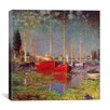 iCanvas 'Argenteuil' by Claude Monet Painting Print on Canvas