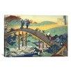 iCanvas 'Ariwara No Narihira Ason' by Katsushika Hokusai Painting Print on Canvas