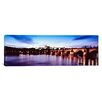 iCanvas Panoramic Hradcany Castle, St. Vitus Cathedral and the Vltava river, Prague, Czech Republic Photographic Print on Canvas