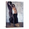 iCanvas 'An Afro-European Couple of Dancers' by Otto Muller Painting Print on Canvas