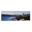 iCanvas Panoramic Buildings at the Waterfront, Lake Union, Seattle, Washington State, 2010 Photographic Print on Canvas