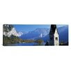 iCanvas Panoramic Church at the Lakeside, Hallstatt, Salzkammergut, Austria Photographic Print on Canvas