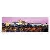 iCanvas Panoramic Charles Bridge, Hradcany Castle and St. Vitus Cathedral , Prague, Czech Republic Photographic Print on Canvas