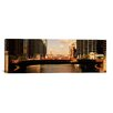 iCanvas Panoramic Buildings at the Waterfront, Marina Towers, Chicago River, Cook County, IL Photographic Print on Canvas