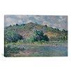 iCanvas 'Bords de la Seine a Port-Villez 1885' by Claude Monet Painting Print on Canvas