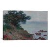 iCanvas 'Bords de la Mediterranee Temps Gris 1888' by Claude Monet Painting Print on Canvas