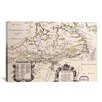 iCanvas Antique Map of Canada Graphic Art on Canvas