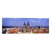 iCanvas Panoramic Church in a City, Tyn Church, Prague Old Town Square, Prague, Czech Republic Photographic Print on Canvas