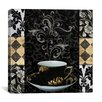 """iCanvas """"Cafe Noir"""" Canvas Wall Art by Color Bakery"""