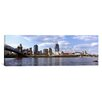 iCanvas Panoramic City at the Waterfront Ohio River, Cincinnati, Ohio Photographic Print on Canvas