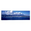 iCanvas Panoramic City at the Waterfront Waikiki, Hawaii Photographic Print on Canvas