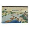 iCanvas 'Yodogawa (De La Serie De Setsuugek'ka)' by Katsushika Hokusai Painting Print on Canvas