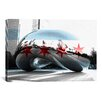 iCanvas Chicago Flag, The Cloud Gate (the Bean) Graphic Art on Canvas