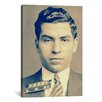 iCanvas Charlie 'Lucky' Luciano - Gangster Mugshot Photographic Print on Canvas