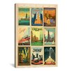 "iCanvas ""Chicago"" by Anderson Design Group Vintage Advertisement on Canvas"