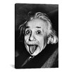 iCanvas Albert Einstein, Sticking His Tongue Out Print on Wrapped Canvas