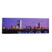 iCanvas Panoramic Longfellow Bridge, Boston, Suffolk County, Massachusetts Photographic Print on Canvas