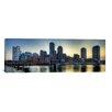 iCanvas Panoramic Boston Skyline Cityscape Photographic Print on Canvas
