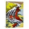 iCanvas 'Yoshitsune Falls' by Katsushika Hokusai Graphic Art on Canvas