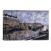 iCanvas 'Boston: The Commercial Wharf' by Stanton Manolakas Painting Print on Canvas