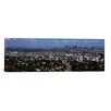 iCanvas Panoramic Buildings in a city, Hollywood, City of Los Angeles, California, 2010 Photographic Print on Canvas