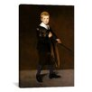 iCanvas 'Boy Carrying a Sword' by Edouard Manet Painting Print on Canvas
