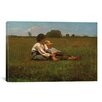 iCanvas 'Boys in a Pasture, 1874' by Winslow Homer Painting Print on Canvas