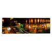 iCanvas Panoramic Bourbon Street New Orleans Los Angeles Photographic Print on Canvas