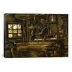 iCanvas 'A Weaver's Cottage' by Vincent van Gogh Painting Print on Canvas