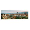 iCanvas Panoramic Buildings Photographic Print on Canvas