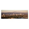 iCanvas Panoramic Buildings in a City, Miracle Mile, Hayden Tract, Hollywood, Griffith Park Observatory, Los Angeles, California Photographic Print on Canvas