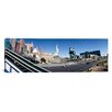 iCanvas Panoramic Buildings in a City, New York, NY Hotel, MGM Casino, The Strip, Las Vegas, Clark County, Nevada Photographic Print on Canvas