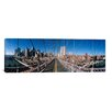 iCanvas Panoramic Brooklyn Bridge, New York City Photographic Print on Canvas