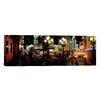 iCanvas Panoramic Lit Up at Night, Broadway, Manhattan, New York City Photographic Print on Canvas