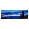 iCanvas Panoramic Buildings in a City, Sears Tower, Chicago, Cook County, Illinois Photographic Print on Canvas