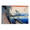 iCanvas Ando Hiroshige 'Yui (Takaido)' by Utagawa Hiroshige I Graphic Art on Canvas
