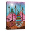 iCanvas 'A Christmas Moment' by Maximilian San Painting Graphic Art on Canvas