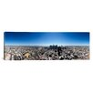 iCanvas Panoramic 360 Degree View of a City of Los Angeles, California Photographic Print on Canvas