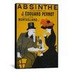 iCanvas Absinthe Vintage Advertisement on Canvas