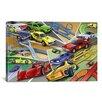 iCanvas Kids Children Cartoon Racing Cars Canvas Wall Art