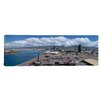 iCanvas Panoramic Cargo Containers at a Harbor, Honolulu, Oahu, Hawaii 2007 Photographic Print on Canvas