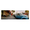 iCanvas Panoramic Cars Parked in front of a Store, Haight-Ashbury, San Francisco, California Photographic Print on Canvas