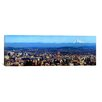iCanvas Panoramic Buildings in a City Viewed from Pittock Mansion, Portland, Multnomah County, Oregon 2010 Photographic Print on Canvas