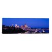 iCanvas Panoramic Buildings in a City, Elliott Bay, Seattle, Washington State 2010 Photographic Print on Canvas