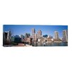 iCanvas Panoramic Buildings in a City, Boston, Suffolk County, Massachusetts Photographic Print on Canvas