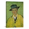 iCanvas 'Armand Roulin' by Vincent van Gogh Painting Print on Canvas