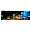 iCanvas Panoramic Art Deco Architecture Miami Beach FL Photographic Print on Canvas