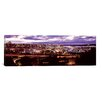 iCanvas Panoramic Aerial View of a City, Tacoma, Pierce County, Washington State 2010 Photographic Print on Canvas