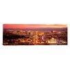 iCanvas Panoramic Aerial Las Vegas NV Photographic Print on Canvas